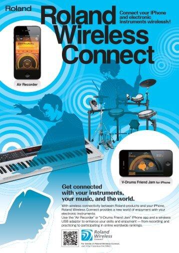 WNA1100-RL Brochure - Roland