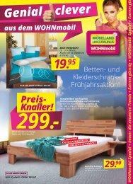 WOHNmobil Spezial gültig vom 19.02. bis 22.03.2014