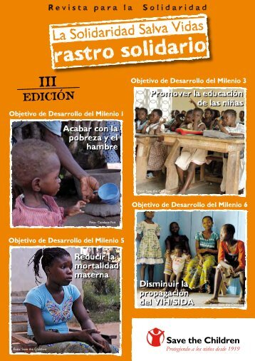 rastro solidario - Save the Children