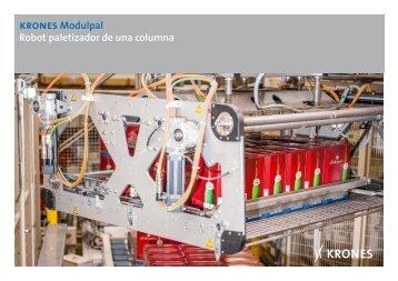 krones Modulpal Robot paletizador de una columna - Krones AG