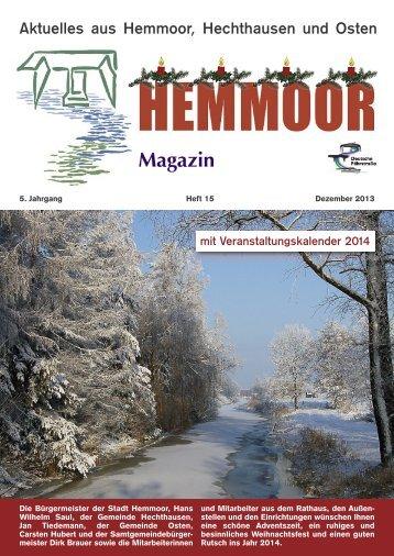 Aktuelles aus Hemmoor, Hechthausen und Osten - NEZ