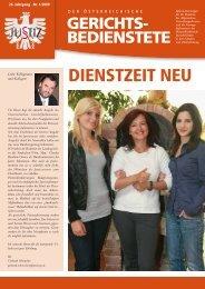 Der Österreichische Gerichtsbedienstete Juli 2009 - ZA Justiz
