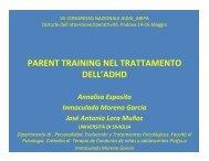 PARENT TRAINING NEL TRATTAMENTO DELL'ADHD - Aidai