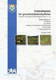 Indsatsplan for grundvandsbeskyttelse - Forsyningsvirksomhederne
