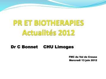 Polyarthrite Rhumatoïde et Biothérapies - Portail Santé Région Centre