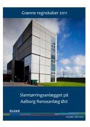 Grønne regnskaber 2011 - Aalborg Forsyning