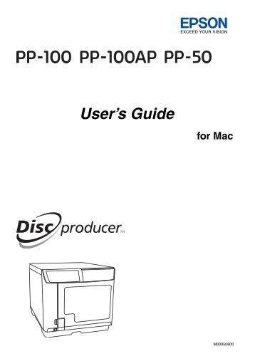EPSON PP-100AP MAC DRIVER