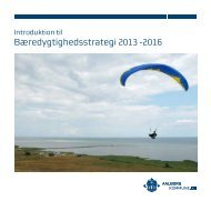Bæredygtighedsstrategi 2013 -2016 - Aalborg Kommune