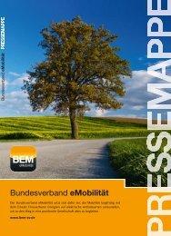 BEM Pressemappe zur eCarTec - Bundesverband eMobilität e.V.