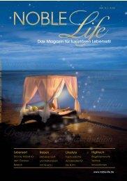 Das Magazin für luxuriösen Lebensstil