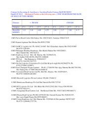 approved transporter list for truck and trailer