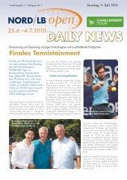 Finales Tennistainment - Sparkassen Open