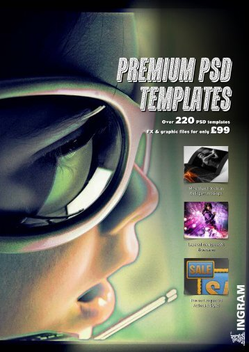 Over 220PSD templates FX & graphic files for ... - Ingram Publishing