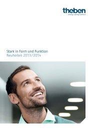 Neuheiten 2013/14 deutsch - Theben