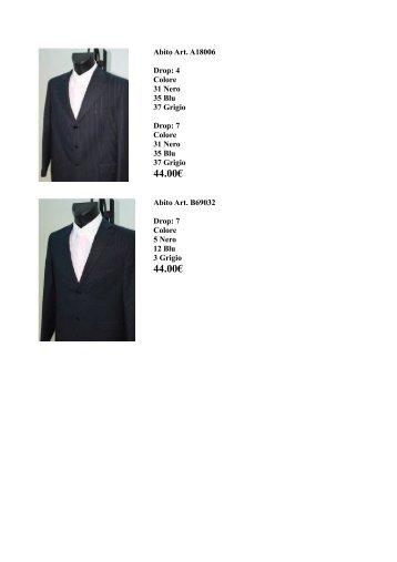 abiti autunno inverno 2011 - Ingrosso abbigliamento