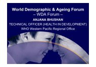 presentation made at - WHO Western Pacific Region - World Health ...