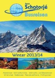Katalog Winter 2013/14 herunterladen... - Reisebüro und ...