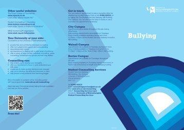 Bullying - University of Wolverhampton