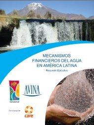 mecanismos financieros del agua en américa ... - Fundación AVINA