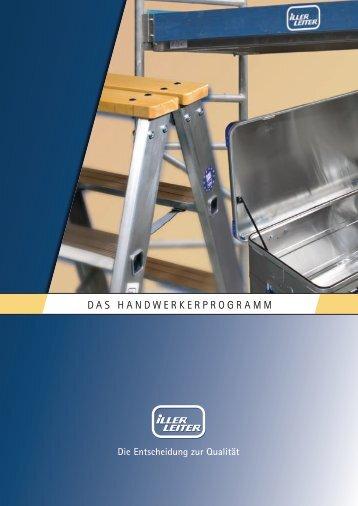 DAS HANDWERKERPROGRAMM - Iller-Leiter