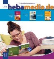 Fachmedien für Hebammen - hebamedia