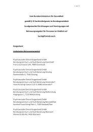 Liste der veröffentlichten Einrichtungen im Bundesgesetzblatt