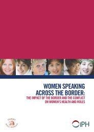 Women speaking across the border.pdf - Institute of Public Health in ...
