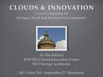 ISC Cloud '11, Mannheim - PDC