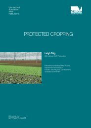 PROTECTED CROPPING - International Specialised Skills Institute