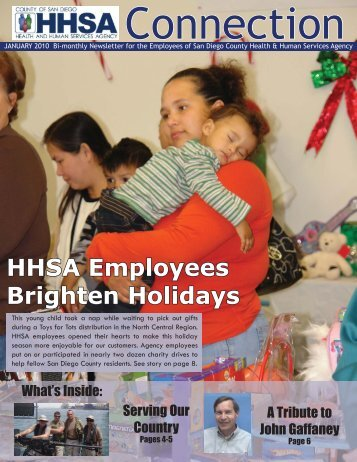 HHSA Employees Brighten Holidays - County of San Diego