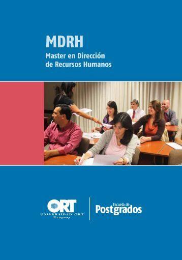 Folleto del master - Universidad ORT Uruguay