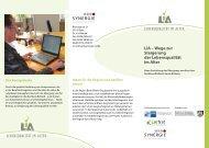 LiA – Wege zur Steigerung der Lebensqualität im Alter LiA – Wege ...