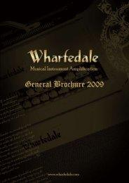 Wharfdale Music Instrument brochure 2009 - Jedistar