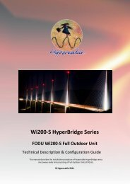 Wi200-S HyperBridge Series - Hypercable