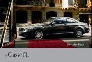 La Classe CL - Sitesreseau.mercedes.fr