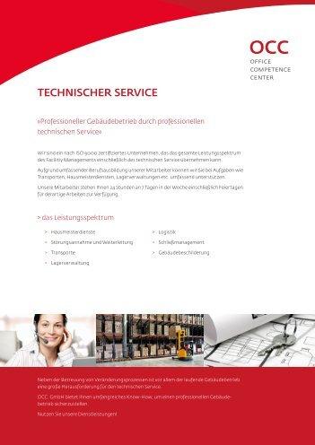 TECHNISCHER SERVICE - OCC. GmbH