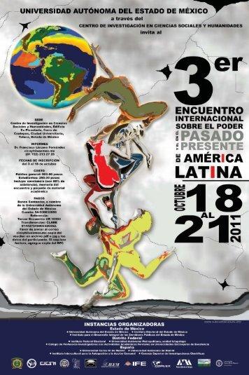 3er. Encuentro internacional sobre el poder en el pasado y presente ...
