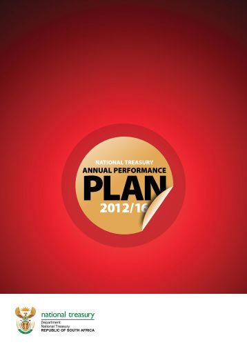 Annual Performance Plan 2012-2016 - National Treasury