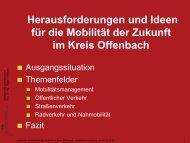 Ing. Jürgen Follmann (h_da) - Kreisverkehrsgesellschaft Offenbach ...