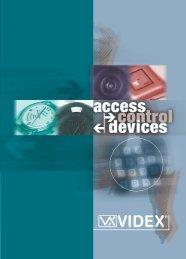 codelock units - door entry systems