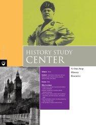 ProQuest - History Study Center Brochure (PDF)