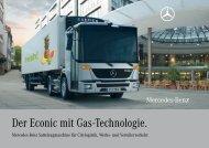 Der Econic mit Gas-Technologie. - Mercedes-Benz