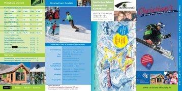 Hallo Kinder! - Skischule Bolsterlang Snowboarschule vom Christian