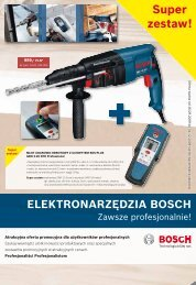 ELEKTRONARZĘDZIA BOSCH - 4-Tech