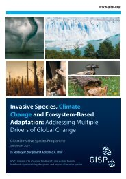 Invasive Species, Climate Change and Ecosystem-Based ... - IUCN