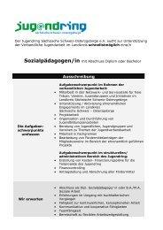 Stellenausschreibung_verbandliche JA - Jugendring Sächsische ...
