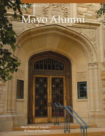 Mayo Alumni Magazine 2003 Winter - MC4409-0103 - Mayo Clinic
