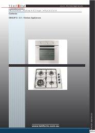Appliances - Tekform