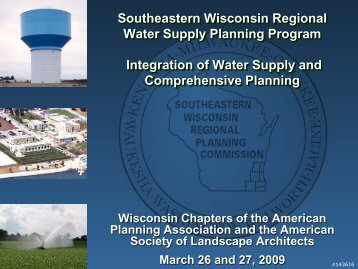 Integration of Water Supply and Comprehensive Planning