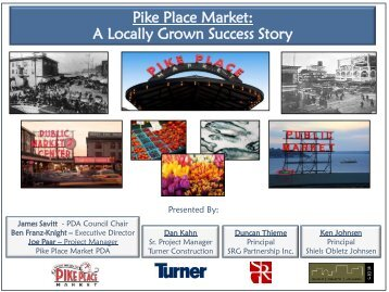Pike Place Market: A Locally Grown Success Story - City of Seattle